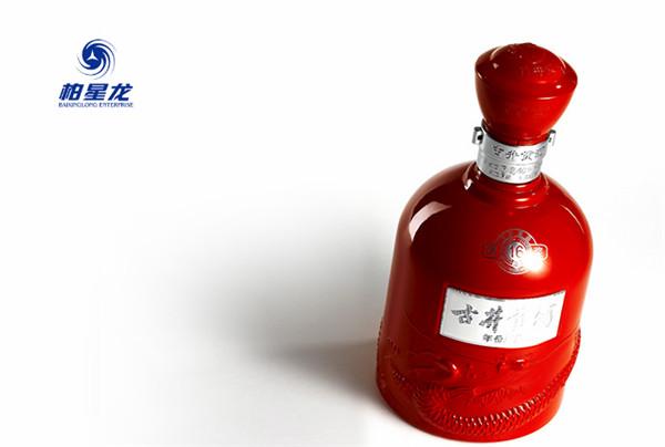 柏星龙白酒包装设计之古井贡酒年份原浆16年