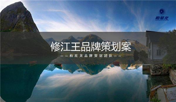 柏星龙:修江王品牌策划案,全舒适度提高记忆点