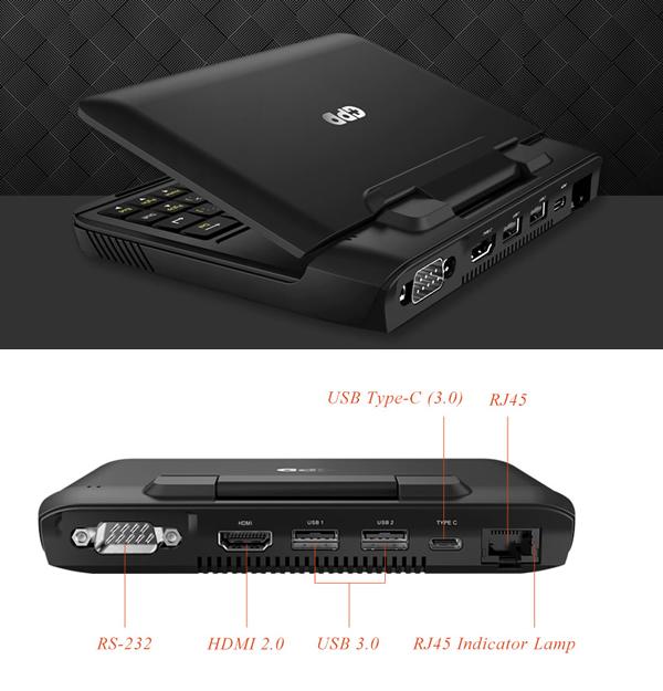 6寸掌上迷你电脑 GPD MicroPC,京东预售即将开启