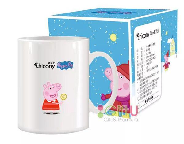 小猪佩奇马克杯